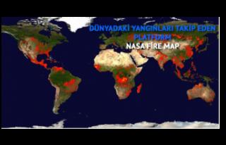 Dünyadaki yangınları takip edebileceğiniz platform:...