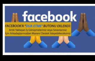 """Facebook'a """"Dua Etme"""" Butonu Geldi!"""
