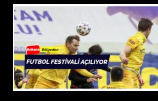 Futbol festivali başlıyor