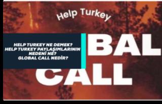 Help Turkey Ne Anlama Geliyor, Help Turkey Paylaşımları...