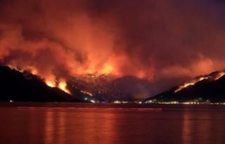 Köyceğiz Yangını 13'üncü Gününde De Sürüyor