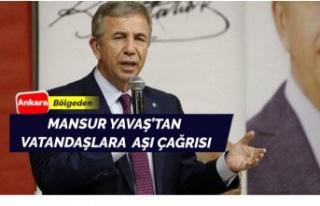Mansur Yavaş vatandaşlara aşı çağrısı yaptı
