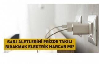 Prize takılı bırakılan şarj aletleri elektrik...