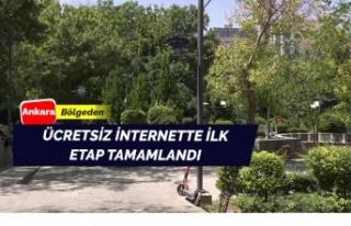 Ücretsiz internette ilk aşama tamam