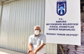 Ankara Büyükşehir Belediyesi'nden Arpa ve...