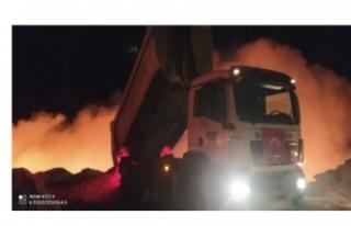 Ankara'da çöplükte patlama