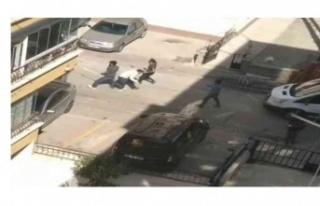 Hastanede park yeri kavgasından sonra kaçarken 2...