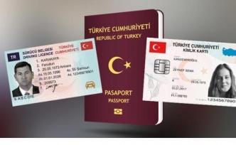 2021 yılı sürücü, pasaport, kimlik kartı bedelleri belli oldu