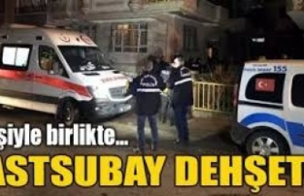 Ankara'da astsubay dehşeti! Eşiyle birlikte kanlar içinde bulundular