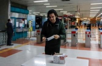 Ankara'da ücretsiz maske dağıtımı başladı