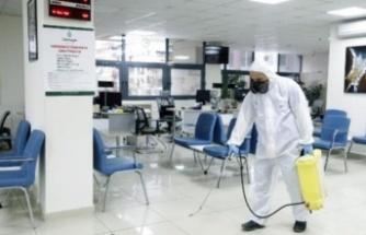 Çankaya Belediyesi YKS için okulları temizledi