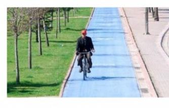 Dünyada bisiklet yolunda en uzun ikinci şehir Konya