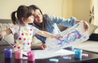 Evde yapılan etkinlikler çocuklarda travmaları önleyebilir