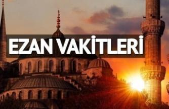 Ankara 1 Aylık Namaz Vakitleri