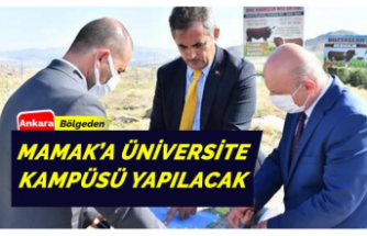 Ankara Mamak'ta üniversite kampüsü inşa edilecek