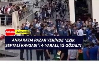 Ankara'da 'ezik şeftali' kavgası!