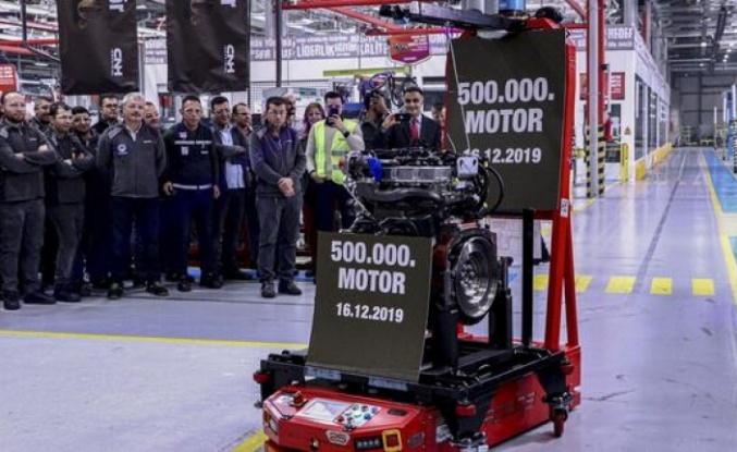 Yerli motor Ankara'da tanıtıldı.