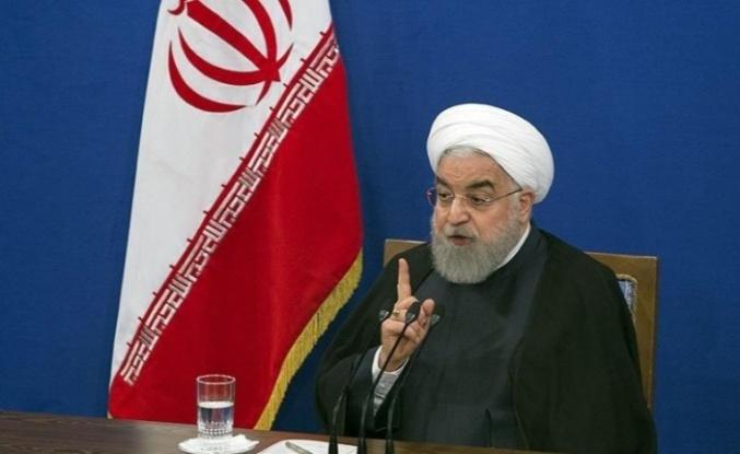 Ruhani Trump'a yanıt verdi!