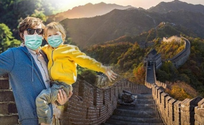 Çin'de hayat normale dönüyor! Çin Seddi ziyarete açıldı.