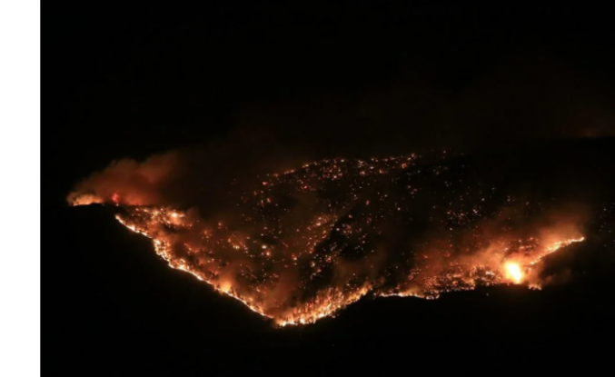 Antalya, Mersin, Adana, Aydın, Osmaniye, Muğla, Kayseri ve Manisa'da Orman Yangınları