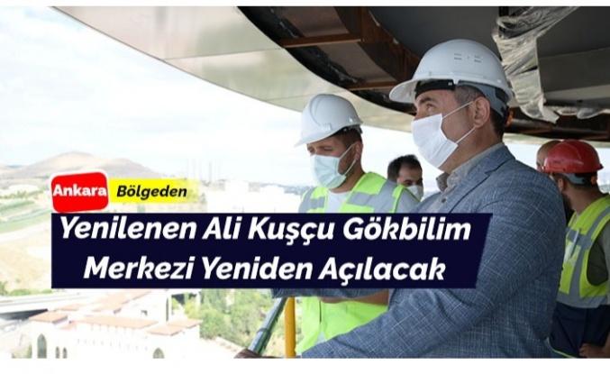 Ali Kuşçu Gökbilim Merkezi Açılıyor