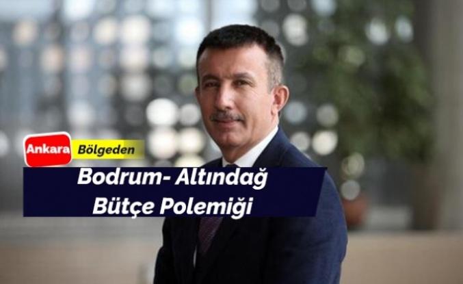 Altındağ ile Bodrum Belediye Başkanları arasında bütçe polemiği