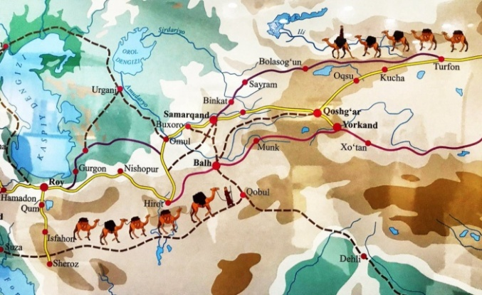 İpek yolu nedir, nerede başlayıp biter ve hangi şehirlerden geçer? İpek Yolu haritası, güzergahı ve önemi
