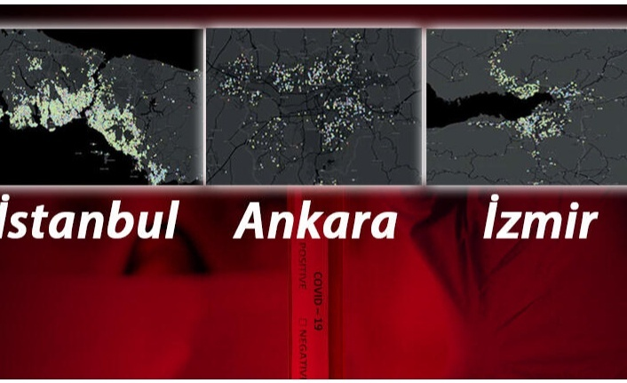 İstanbul, Ankara ve İzmir'de Corona virüs salgınında en riskli ilçeler açıklandı